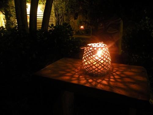 Posada Valizas, jardin de nuit