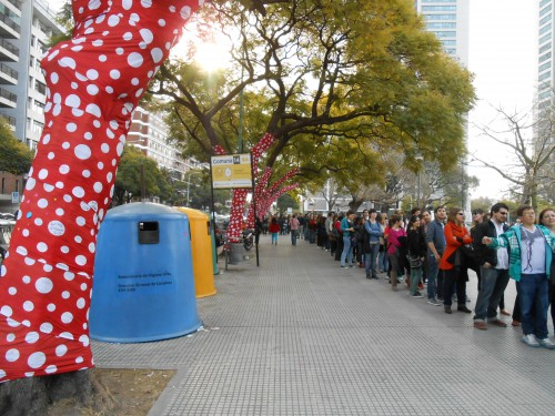 usina del arte,yayoi kusama,inflation buenos aires,recherche d'appart buenos aires,insultes argentines
