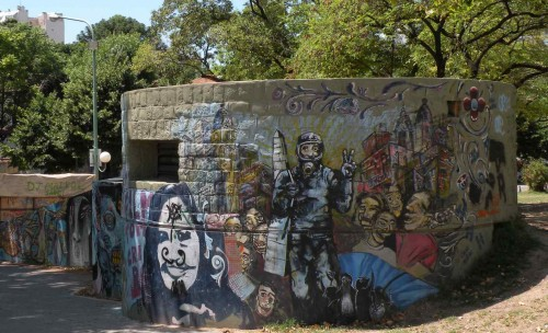 street art, buenos aires, parque centenario