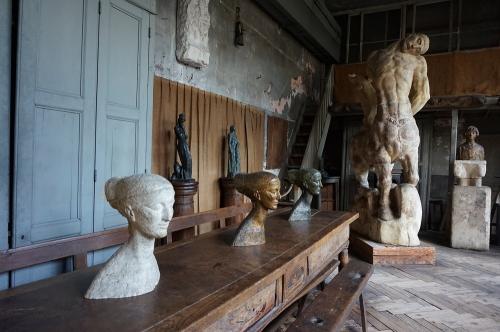 Bourdelle atelier centaure mourant.jpg